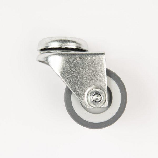 Marino Terrashaard zwenkwiel zonder rem grijs