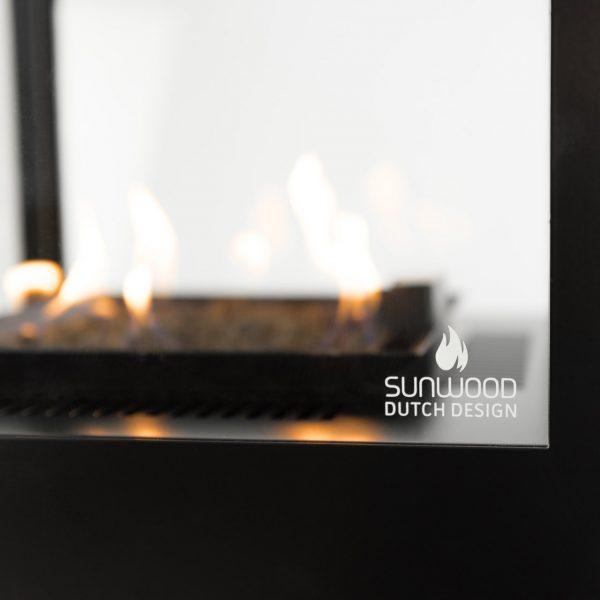 Sunwood Dutch Design Marino Buitenhaard Productfoto Sfeerhaard Horeca Terrashaard Terras Vlammenspel