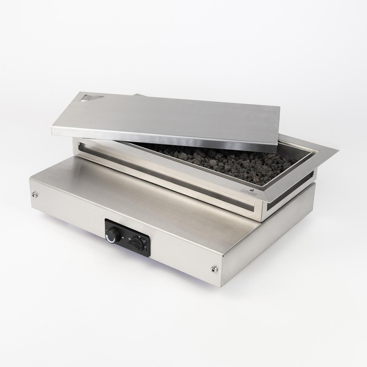 Sunwood Flamecore inbouwbrander voor buitentafel