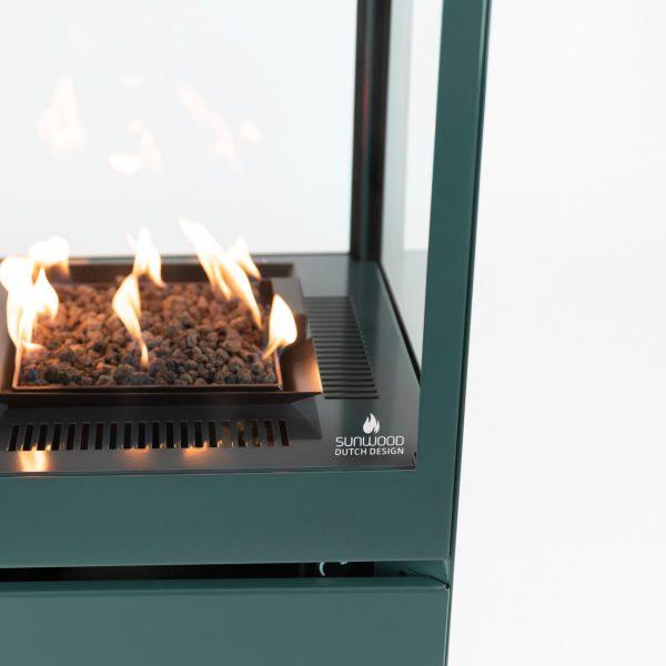 Sunwood Marino Premium Custom Kleur RAL 6033 Buitenhaard