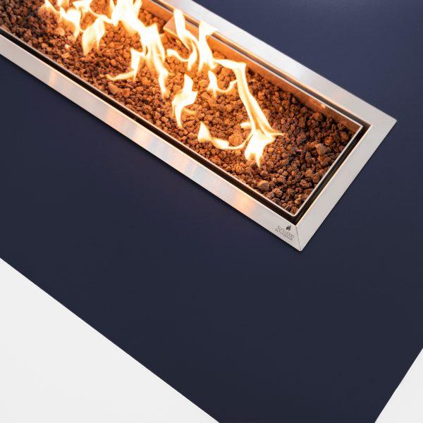 Vlammenspel van de Habanero buitenhaard