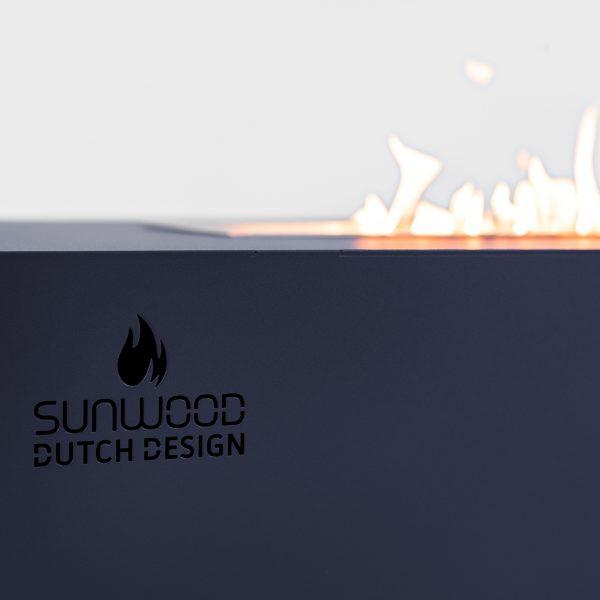 Habanero buitenhaard met Sunwood logo